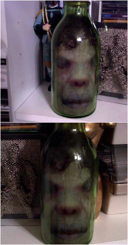 Creepy Head In A Jar