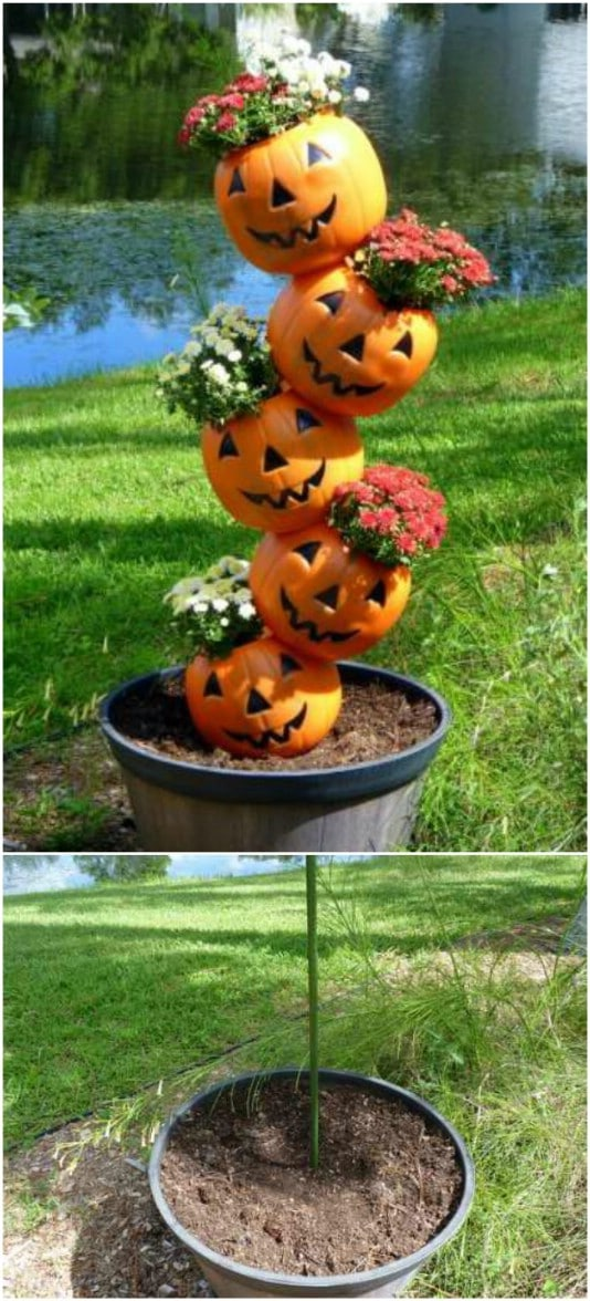 15 DIY Outdoor Fall Decor Projects for Your Garden - Style ...
