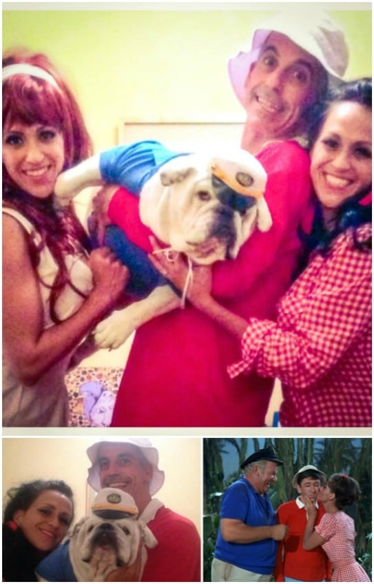 Homemade Gilligan's Island Family Costumes