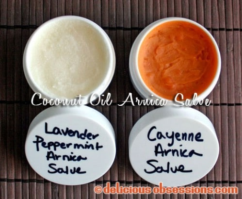 DIY Coconut Oil Arnica Salve