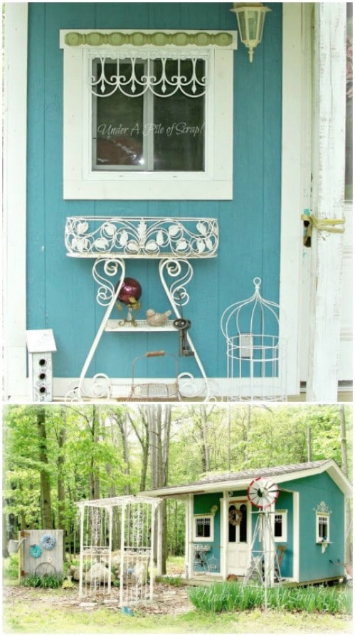 Use teal for exteriors, not just interiors.