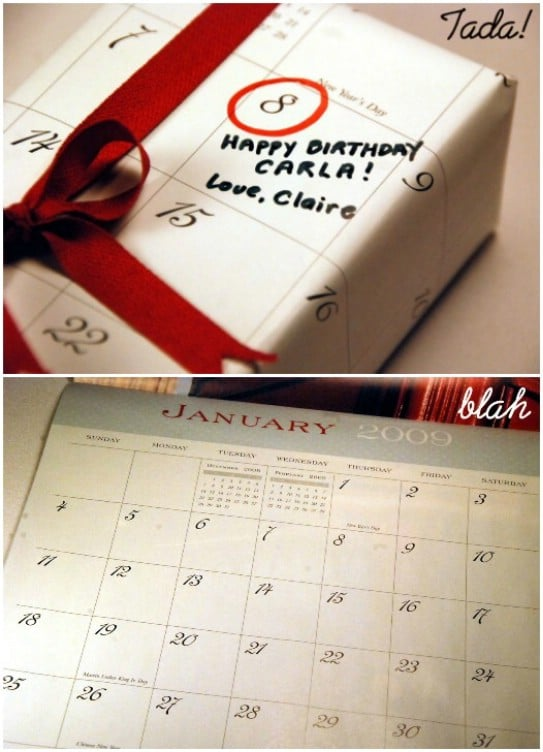 15 DIY Clever Calendar Repurposing Ideas