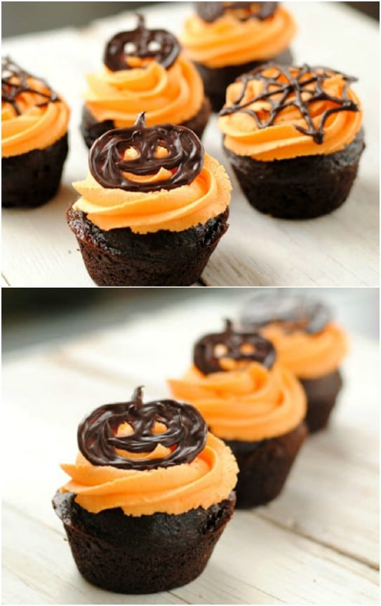 17 Scary and Easy Halloween Cupcakes Recipes and Ideas