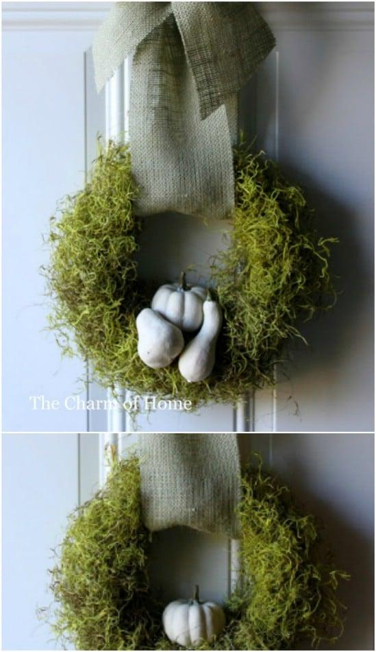 DIY Gourd Wreath
