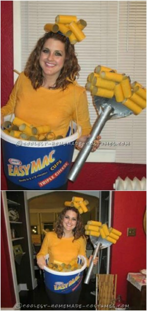 Easy Mac And Cheese Costume