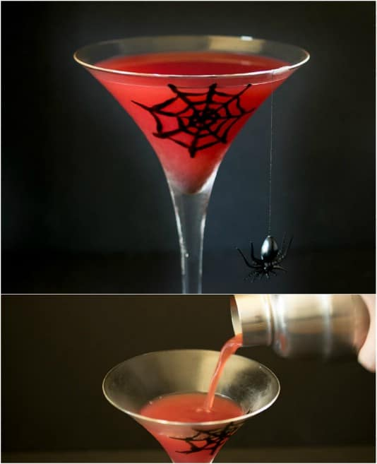 Blood Orange Mock Martini