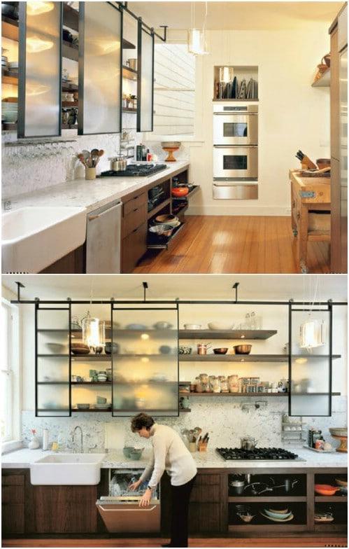Sliding Kitchen Cabinet Doors