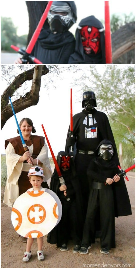 DIY Star Wars Family Costumes