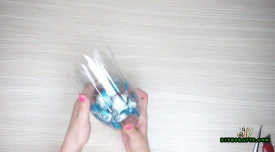 Candy Container - 5 Creative DIY Projects for Upcycling Your Plastic Bottles {Video Tutorial}