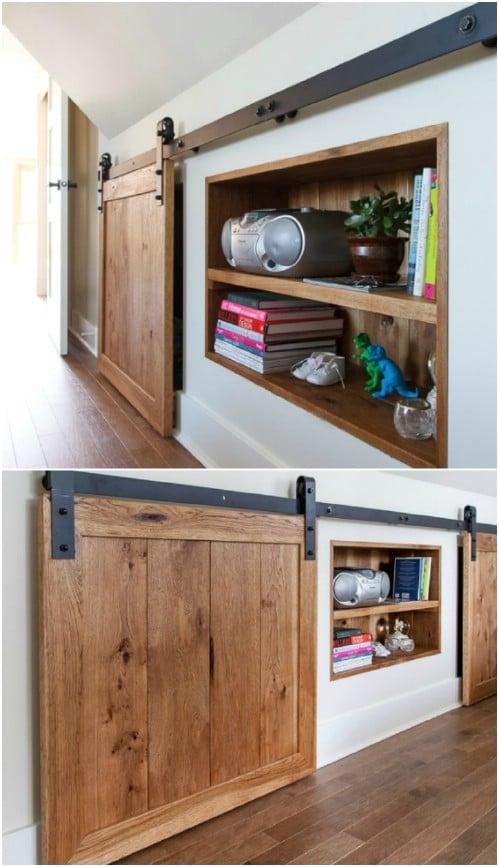 Sliding Door for Storage Space