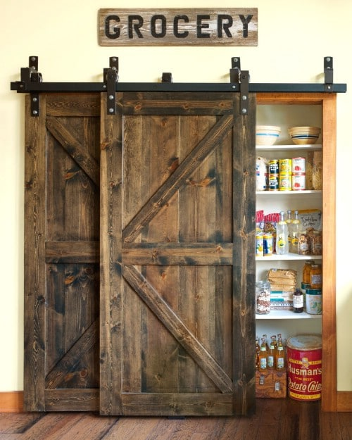 Rustic Pantry Upgrade