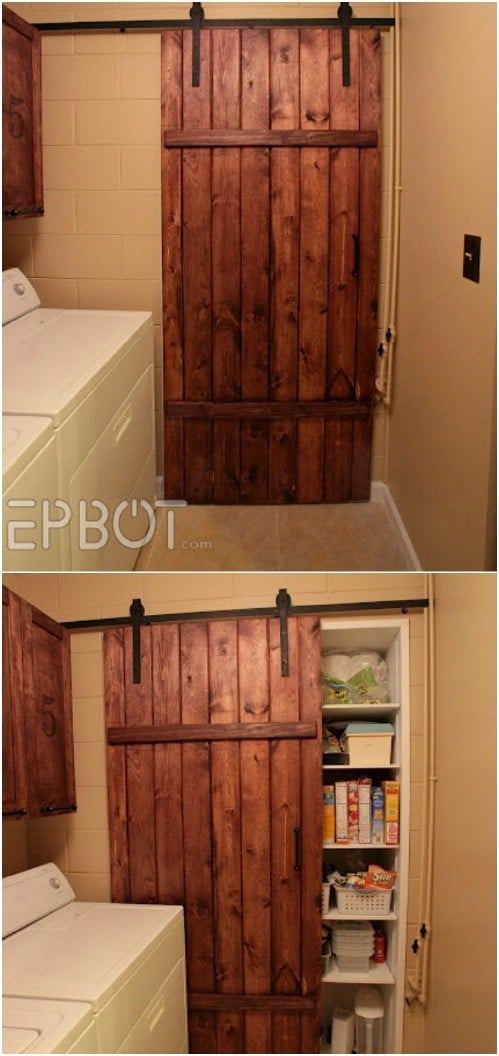 Sliding Barn Door For Under $100