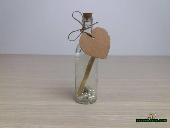 Bottle - 5 Cute Craft Ideas Using Garden Stones in Under 5 Minutes