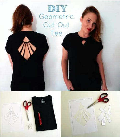 Make a geometric design.