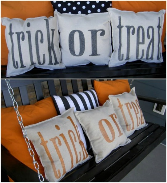 Easy DIY Fall Word Pillows