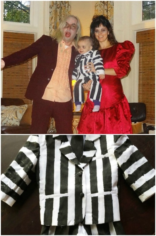 Top 35 most creative themed diy halloween costumes for the entire diy beetlejuice costumes solutioingenieria Gallery