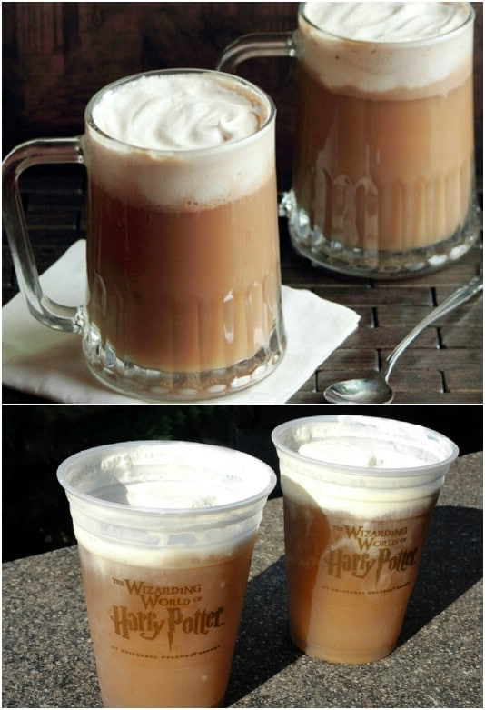 Harry Potter Inspired Butterbeer