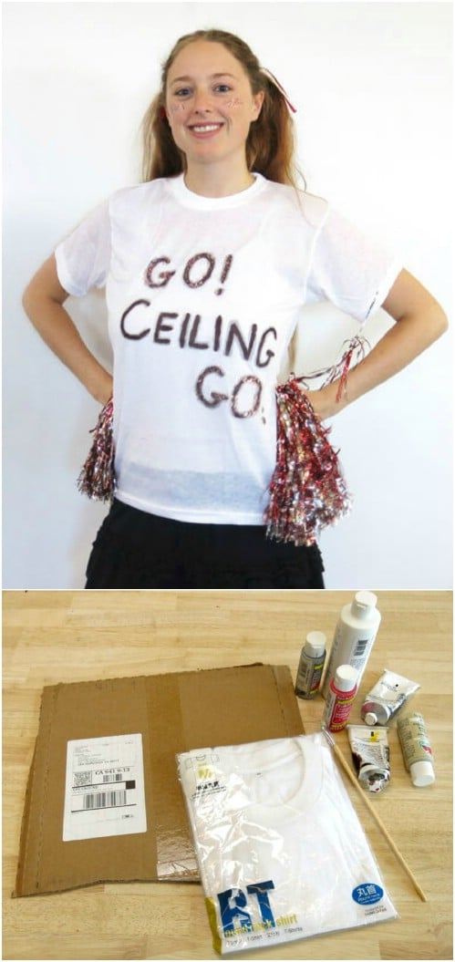Punny Ceiling Fan Costume