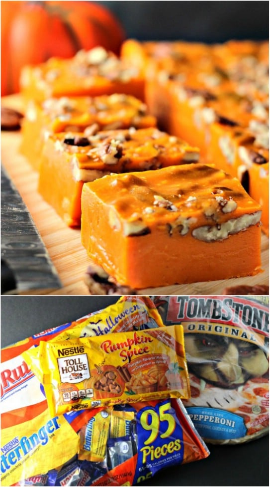 Delicious DIY Pumpkin Spice Pecan Fudge