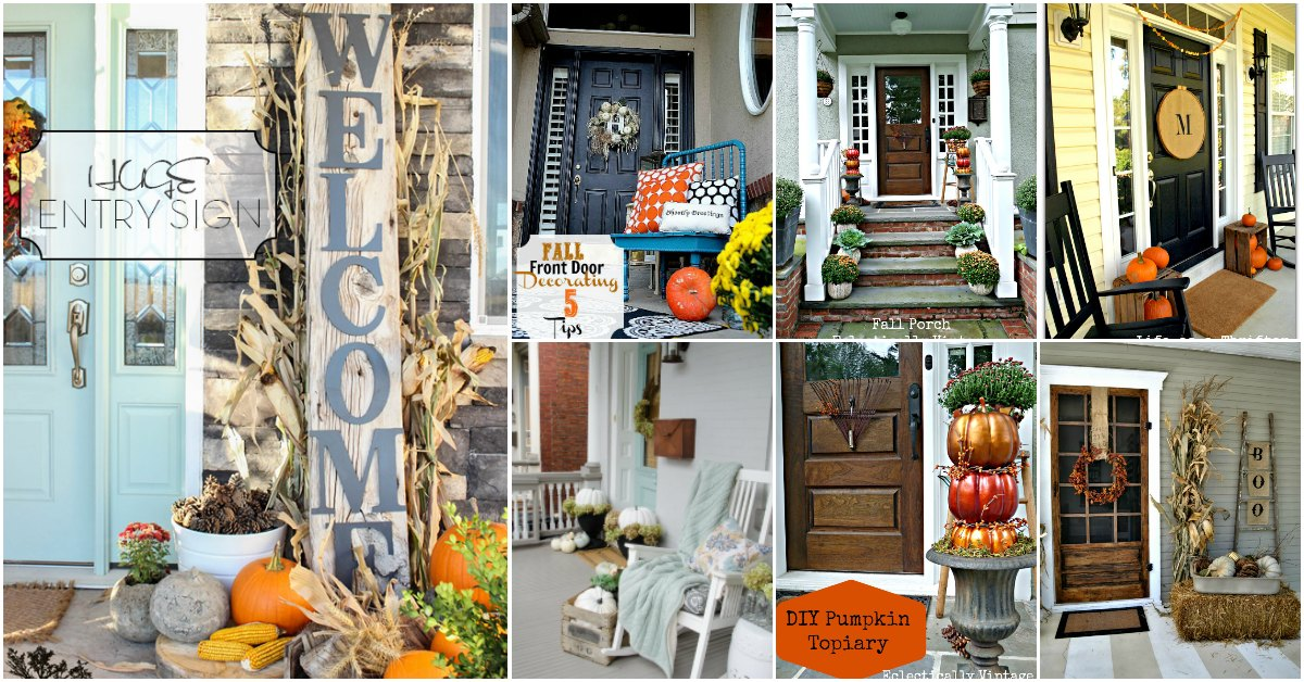 25 Fall Porch Decorating Ideas To Make Your Home The Envy Of Your  Neighborhood
