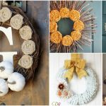 40 DIY Fall Wreaths That Add The Perfect Touch Of Autumn To Your Front Door
