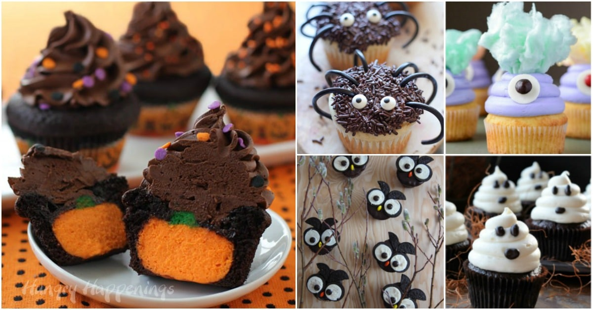30 ghoulish halloween cupcakes that add a spooky touch to your party
