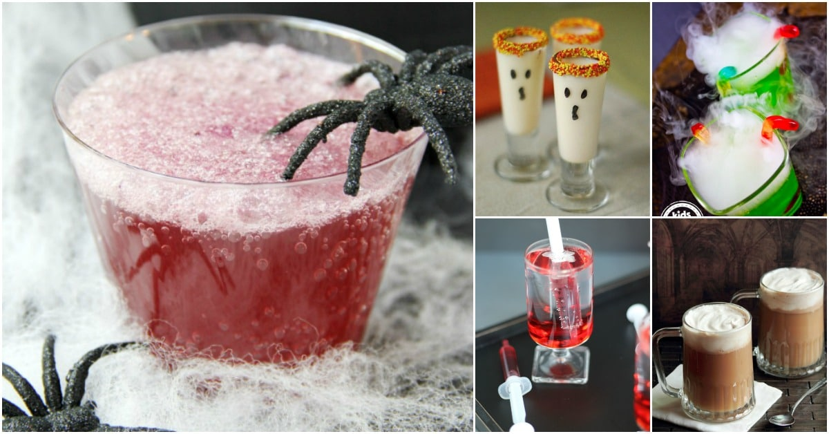 30 Frighteningly Fun Halloween Party Drink Recipes That Will Thrill Your Guests