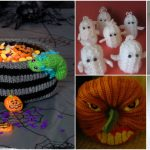 25 Adorable DIY Halloween Decorations You Can Knit Or Crochet Today