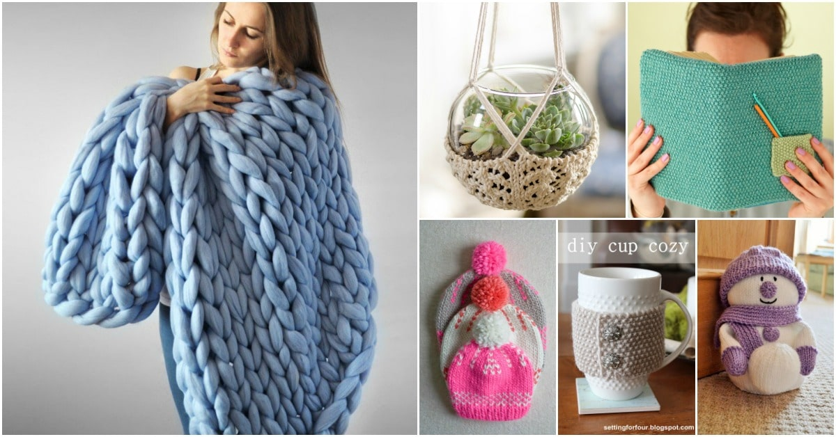 25 Gorgeous Knitted Christmas Gifts You Can Make In A Jiffy Diy