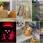 25 Fantastic Reclaimed Wood Halloween Decorations For Your Home And Garden