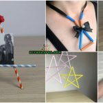 5 Amazing Straw Projects In Just 4 Minutes {Necklace, Frame, Bracelet, Candle Holder}