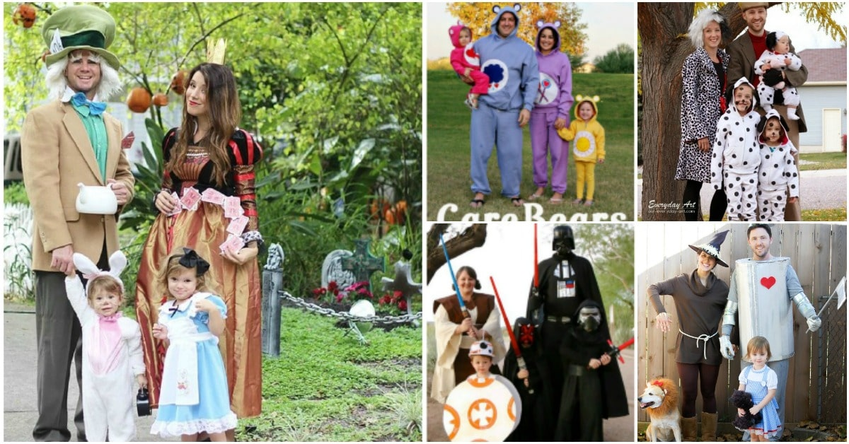 Top 35 Most Creative Themed DIY Halloween Costumes For The Entire Family  sc 1 st  DIY u0026 Crafts & Top 35 Most Creative Themed DIY Halloween Costumes For The Entire ...