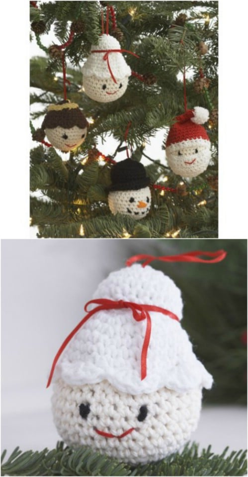 easy crochet amigurumi ornaments