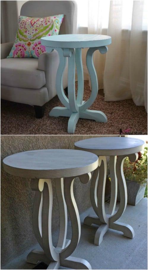 DIY $12 Curvy Table