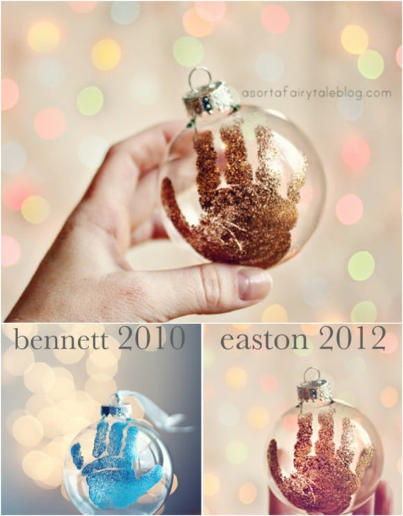 10 memorable diy babys first christmas ornaments diy crafts easy diy babys first christmas ornament solutioingenieria Images