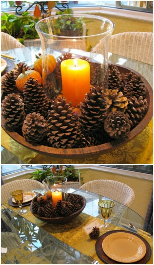 Creative pinecone crafts that add beauty to your fall