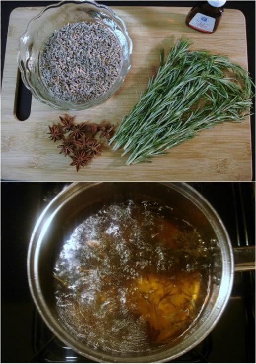 Clean Lavender Potpourri