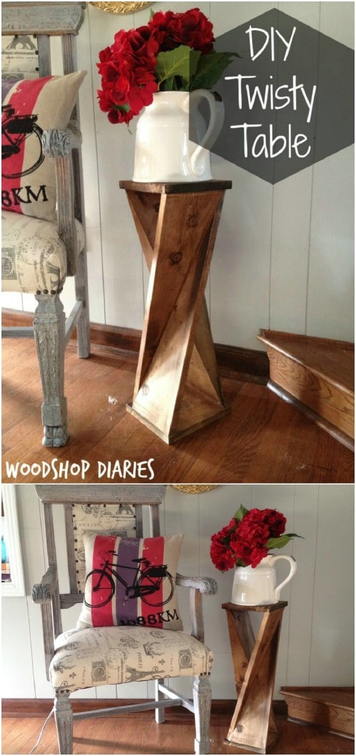 Cheap And Easy $6 Accent Table