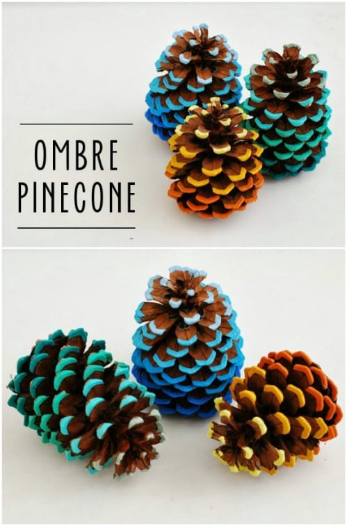 15 Creative and Easy DIY Pinecone Decorations