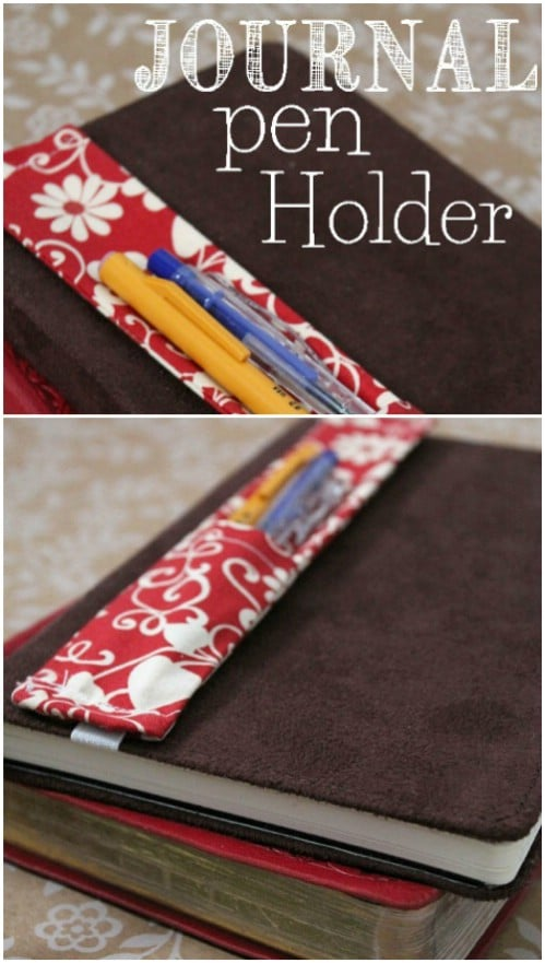 Handmade Pen And Pencil Holder