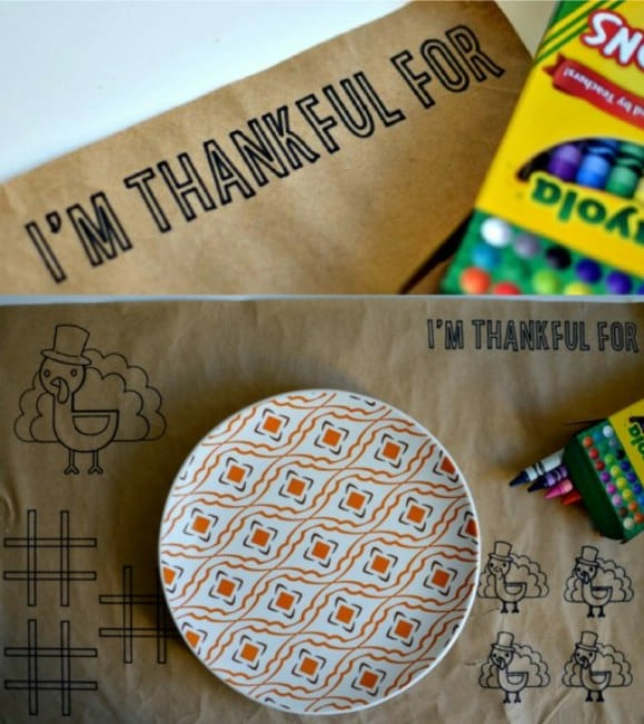 DIY Placemats For Kids