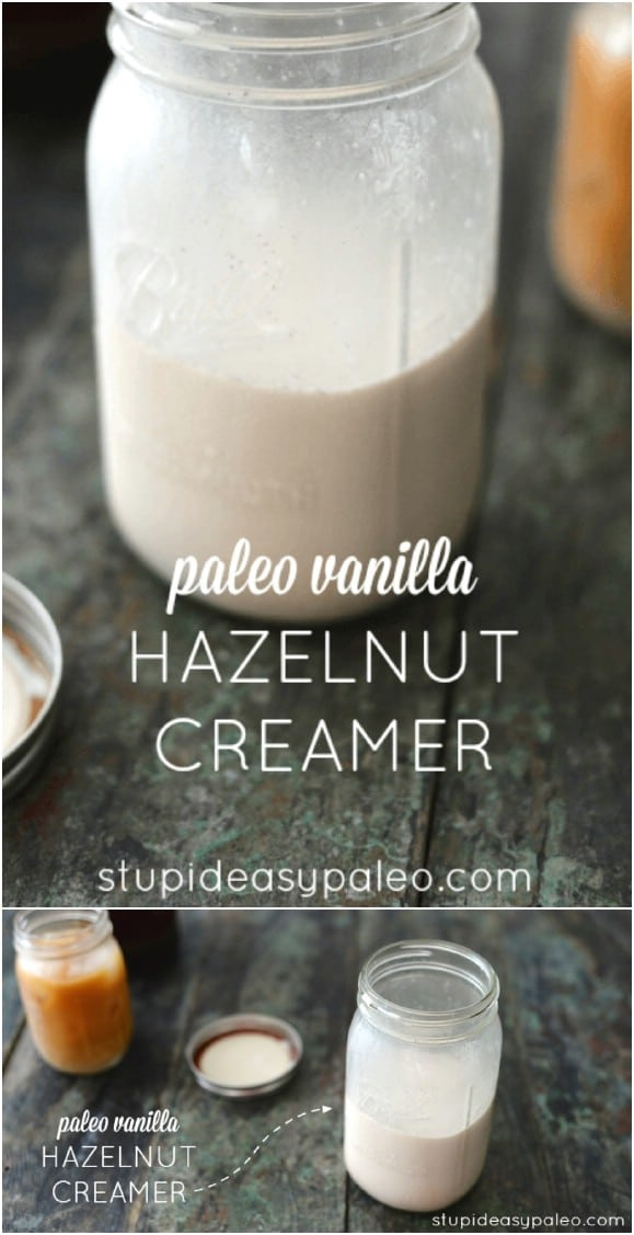 DIY Hazelnut Coffee Creamer