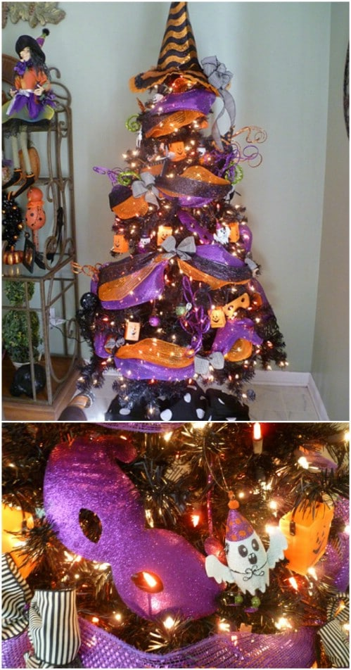 Witch's Hat Tree Topper