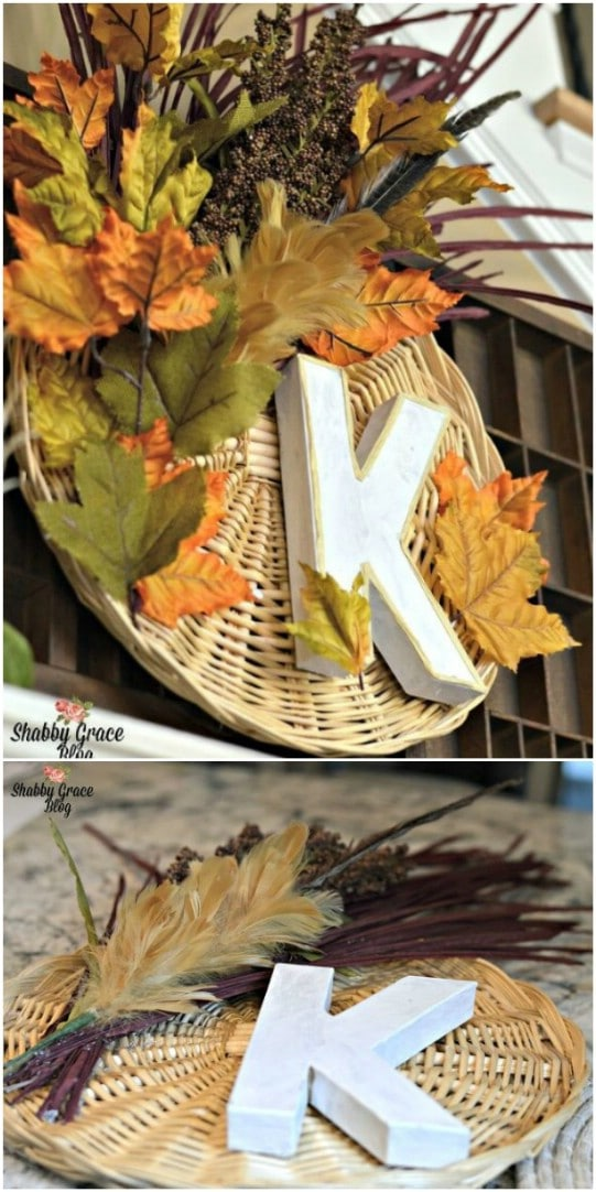 DIY Fall Basket