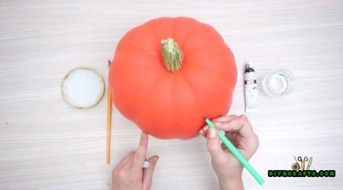 Painted Pumpkin Tutorial