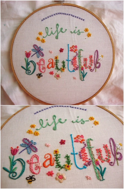 25 Easy Embroidery Projects For Beginners With Free Patterns Diy