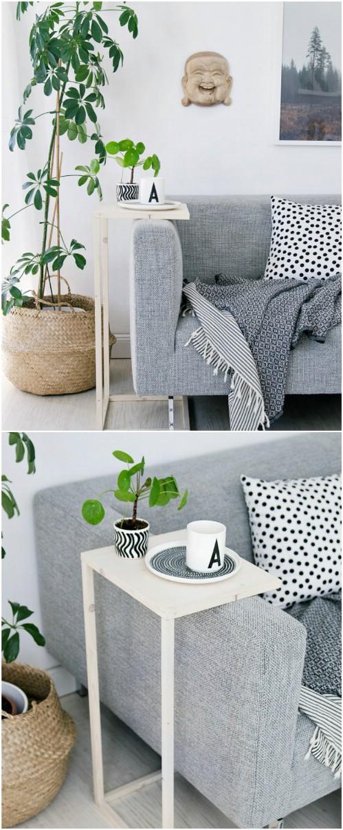 Easy DIY Sofa Caddie