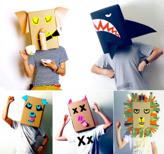 15 DIY Halloween Masks For Kids And Adults