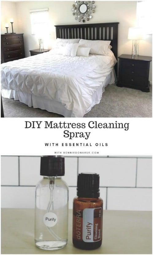 Homemade Mattress Cleaning Spray