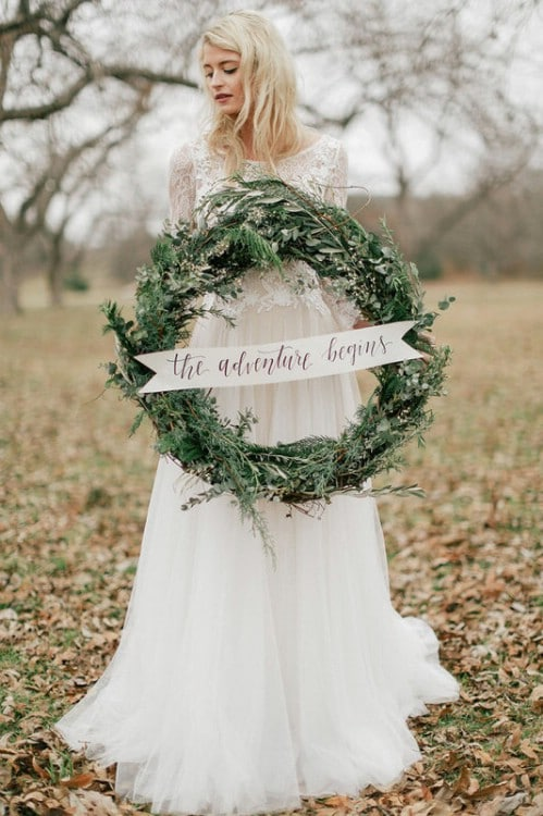 16 Simple Winter Wedding DIY Projects